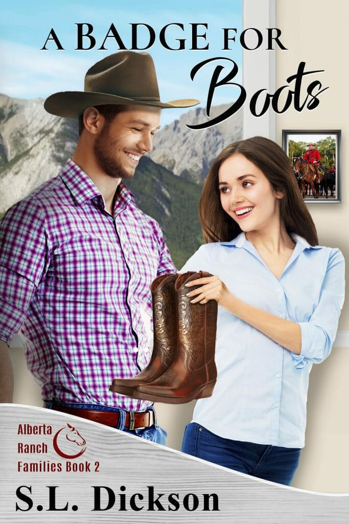 Book Cover: A Badge for Boots
