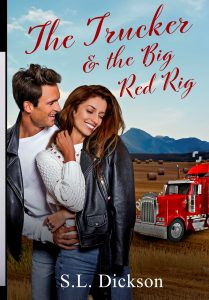 Book Cover: The Trucker & The Big Red Rig